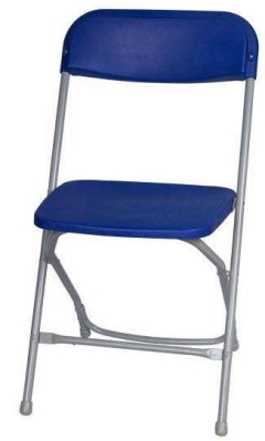 Where to rent CHAIRS - CHARCOAL GRAY FOLDING in Old Town ME