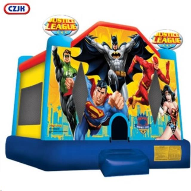 Where to find BOUNCE TENT 14X13 - JUSTICE LEAGUE in Old Town